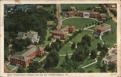 Mary Washington College from the Air