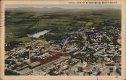 Aerial View of Martinsburg, West Virginia