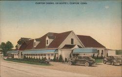 Clinton Casino, on Route 1 Postcard