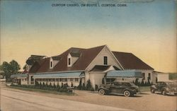 Clinton Casino Postcard