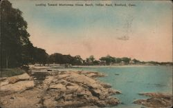 Looking Toward Montowese House Beach, Indian Neck