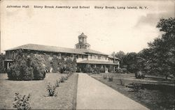 Johnston Hall at Stony Brook Assembly and School Postcard