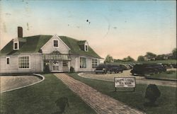 Laurel Locks Tea Room - Cor. Routes 83 and 100 - Luncheons Postcard