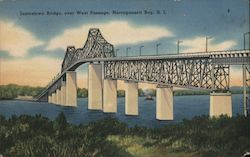 Jamestown Bridge, over West Passage Postcard