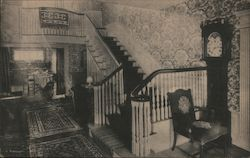Reception Hall at Hartness House Postcard