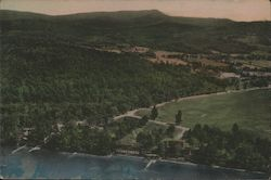 View of Lake Morey Inn and Lake Morey Inn Golf Course Taken from the Air
