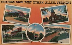 Greetings from Fort Ethan Allen