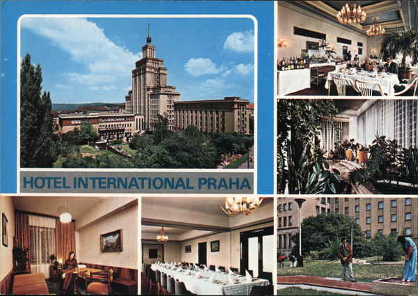 Prague - Praha - Hotel International Czech Republic