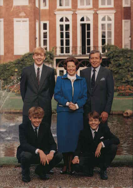 Queen Beatrix and Family Netherlands