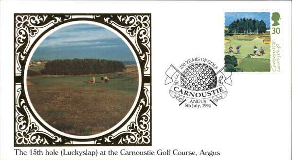 15th Hole at Carnoustie Angus Scotland Golf