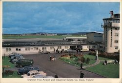 Shannon Free Airport and Industrial Estate, Co Clare, Ireland Postcard