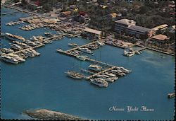 Aerial View of Yacht Haven and the Pilot House Club Postcard
