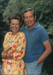 The Queen Beatrix and Prince Claus of the Netherlands