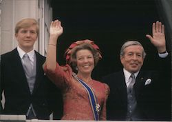 The Queen Beatrix, The Prince Claus and The Prince Willem Alexander