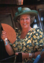 Queen Beatrix During State Visit to Indonesia 1995