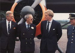 Departure of Willem Alexander as a pilot at Soesterberg