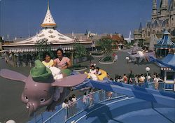 Tokyo Disney Dumbo The Flying Elephant soars over Fantasyland