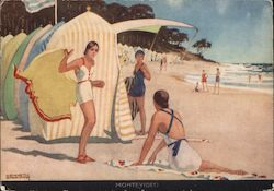 Montevideo - Art Deco Postcard
