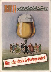 Beer-Now Significantly Cheaper Postcard