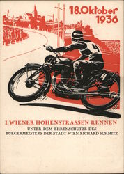 1936 High Street Motorcycle Race