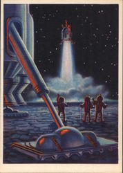 "Soviet ""Future Space"" Exploration of the Moon Begins"