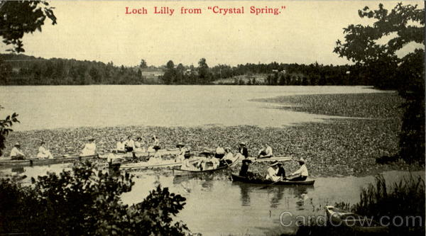 Loch Lilly from Crystal Spring Canoes & Rowboats