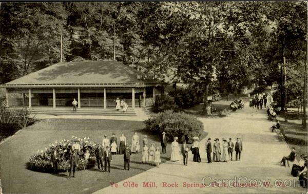 ye olde mill rock springs park chester wv. Black Bedroom Furniture Sets. Home Design Ideas