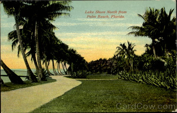 Lake Shore North From Palm Beach Florida