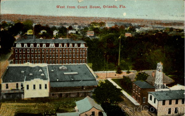 West From Court House Orlando Florida