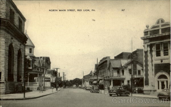 North Main Street Red Lion Pennsylvania