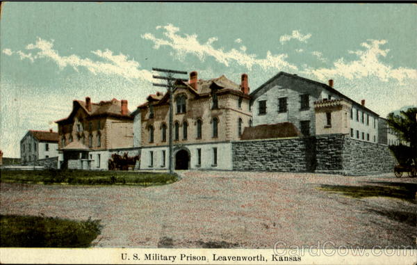leavenworth prison Built at the start of the 20th century, the united states penitentiary at leavenworth was among the earliest federal prisons it is where lee goodwin does time for killing another soldier in the.