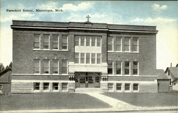 Parochial School Manistique Michigan