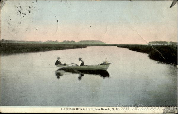 Hampton River Hampton Beach New Hampshire