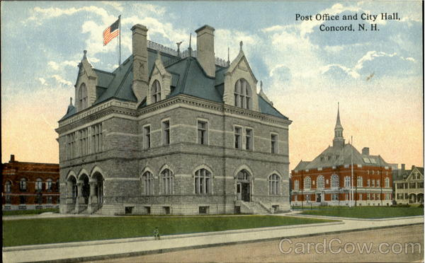 Post Office And City Hall Concord  New Hampshire