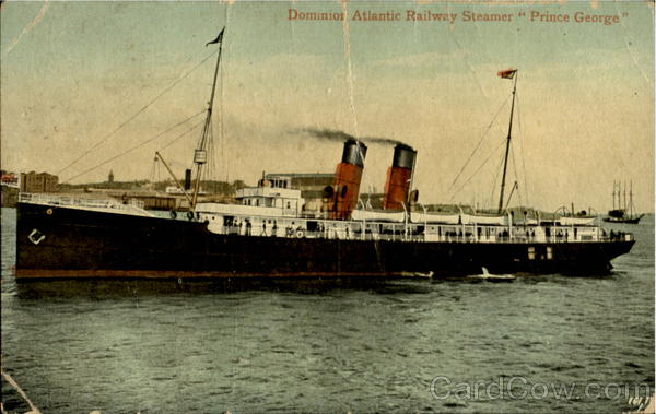Steamer Prince George Boats, Ships