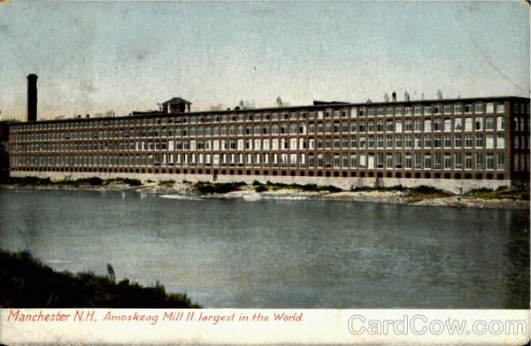 Amoskeag Mill Ii Manchester New Hampshire