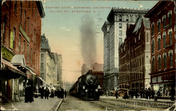 Empire State Express Crossing, Salina St Syracuse New York