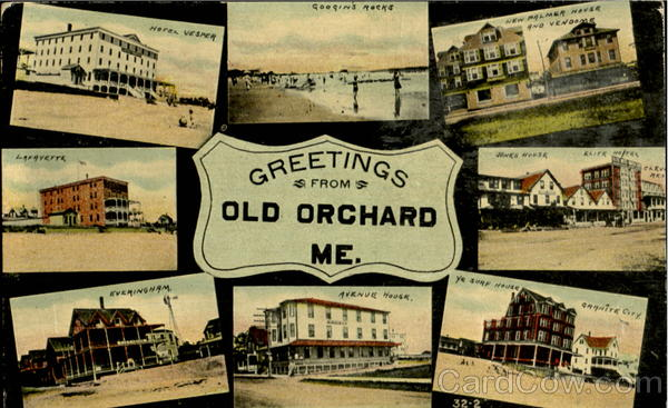 Greetings From Old Orchard Multi View Maine