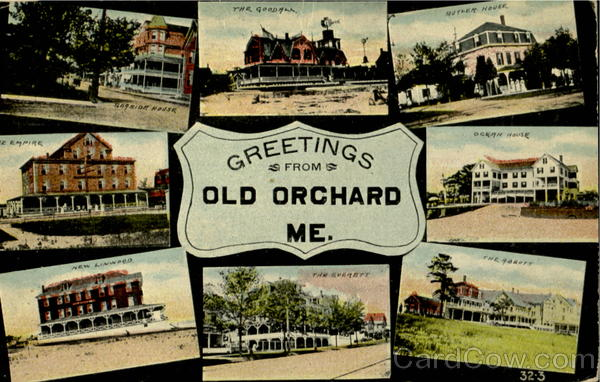 Greetings From Old Orchard Maine