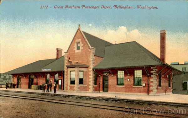 Great Northern Passenger Depot Bellingham Washington