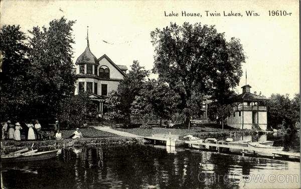 Lake House Twin Lakes Wisconsin