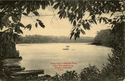 View From Lakeside Park, Lake Wamgambaug
