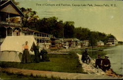 View Of Collages And Pavilion, Cayuga Lake Park