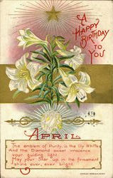 April A Happy Birthday To You