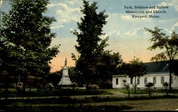 Park Soldiers And Sailors Monument And Church