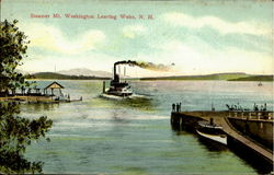 Steamer Mt. Washington Leaving Weirs Weirs Beach, NH