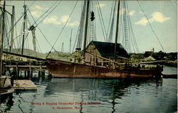 Farring & Rigging Gloucester Fishing Schooner