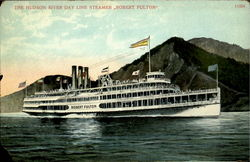 The Hudson River Day Line Steamer Postcard