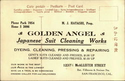 Golden Angel Japanese Suit Cleaning Works