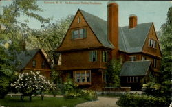 Ex-Governor Rollins Residence Postcard